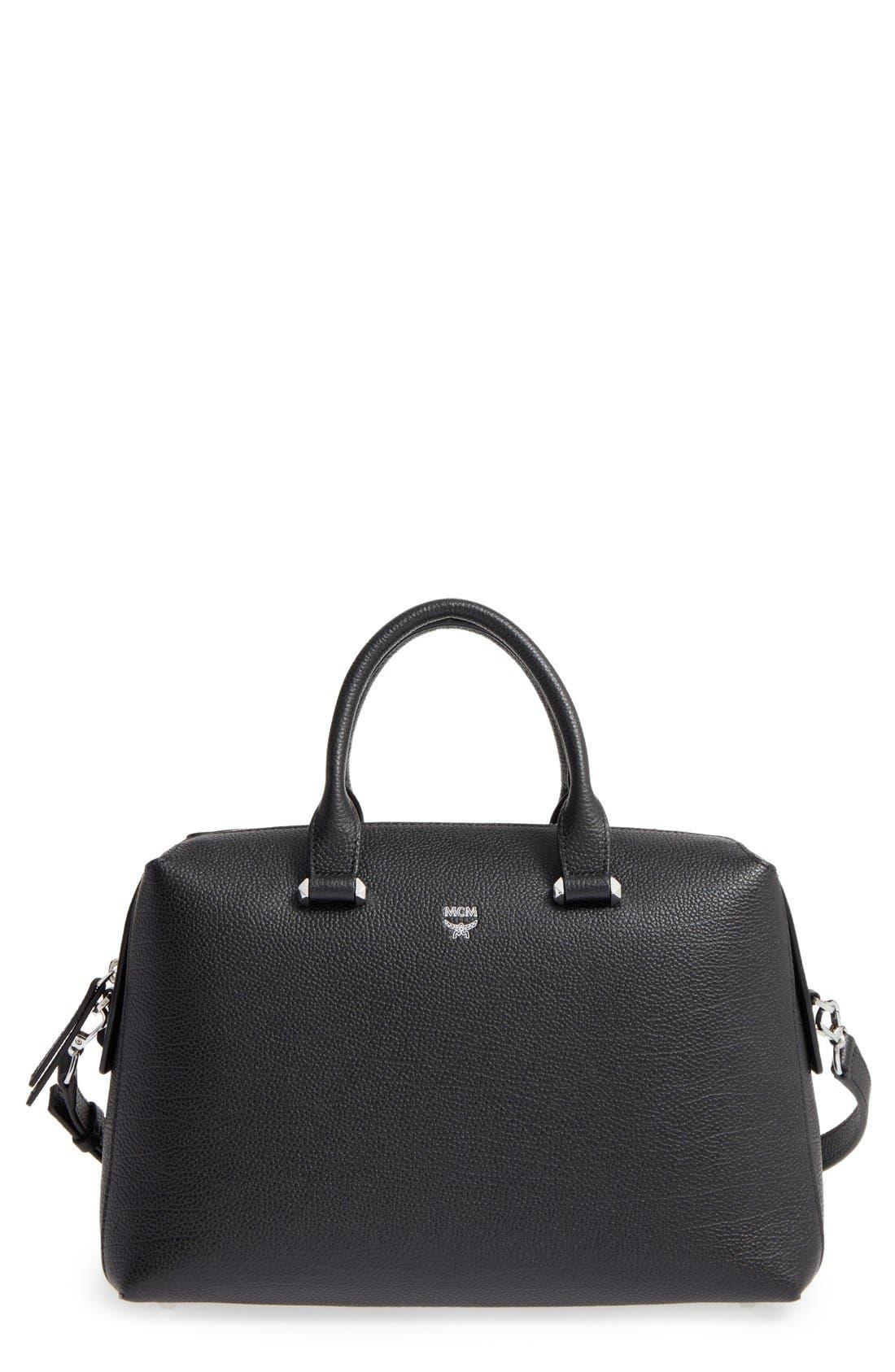 Alternate Image 1 Selected - MCM Medium Ella Boston Bowler Bag