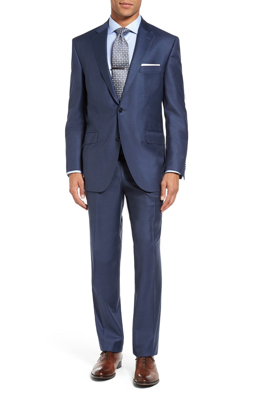Peter Millar Flynn Classic Fit Wool Suit