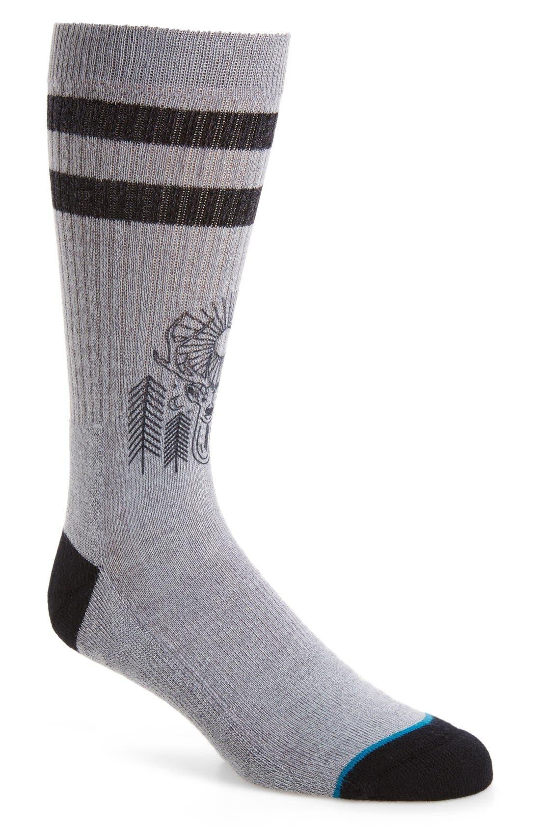Stance Peaceful Classic Crew Socks