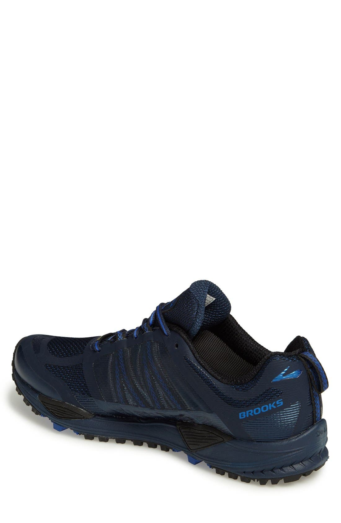 Cascadia 11 GTX Trail Running Shoe,                             Alternate thumbnail 2, color,                             Dress Blue/ Electric Blue