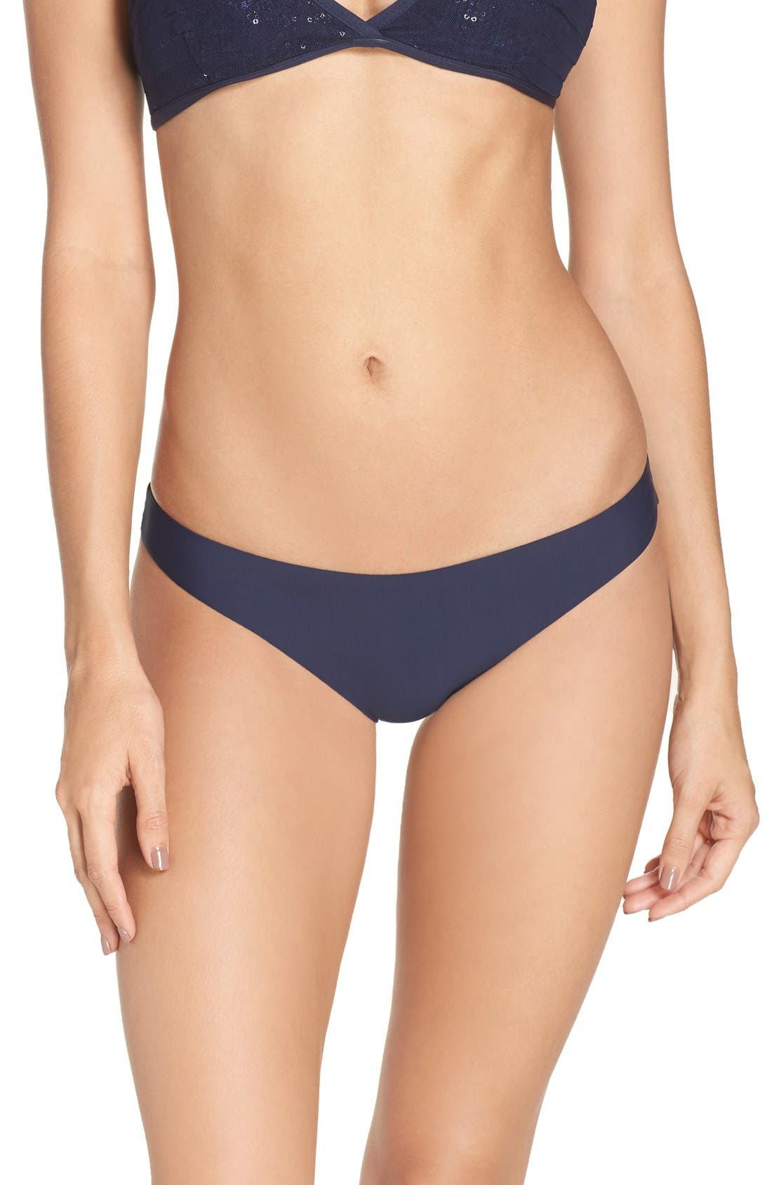 Ruched Bikini Bottoms,                             Alternate thumbnail 2, color,                             Atlantis