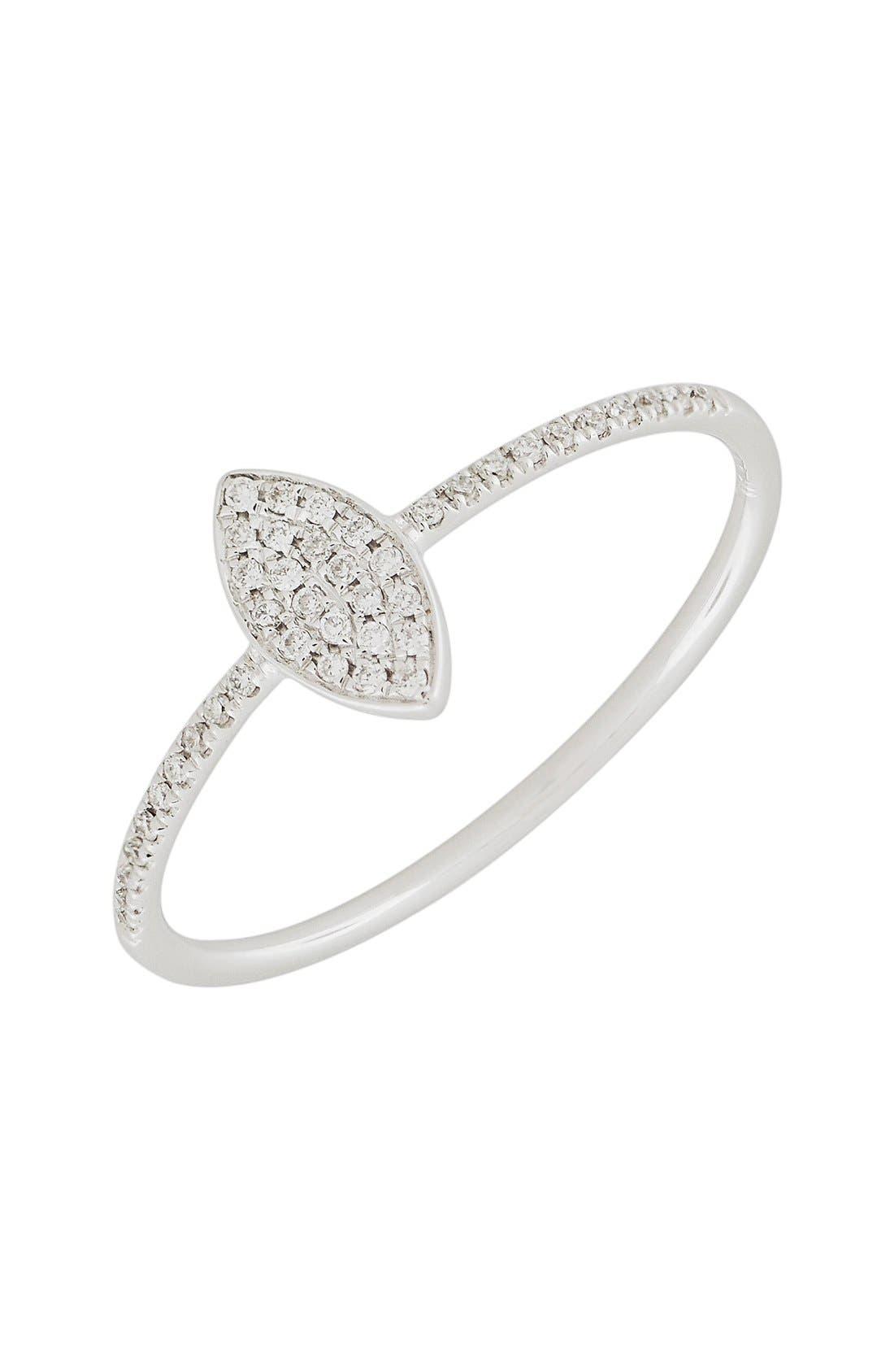 Bony Levy Diamond Marquise Ring (Nordstrom Exclusive)
