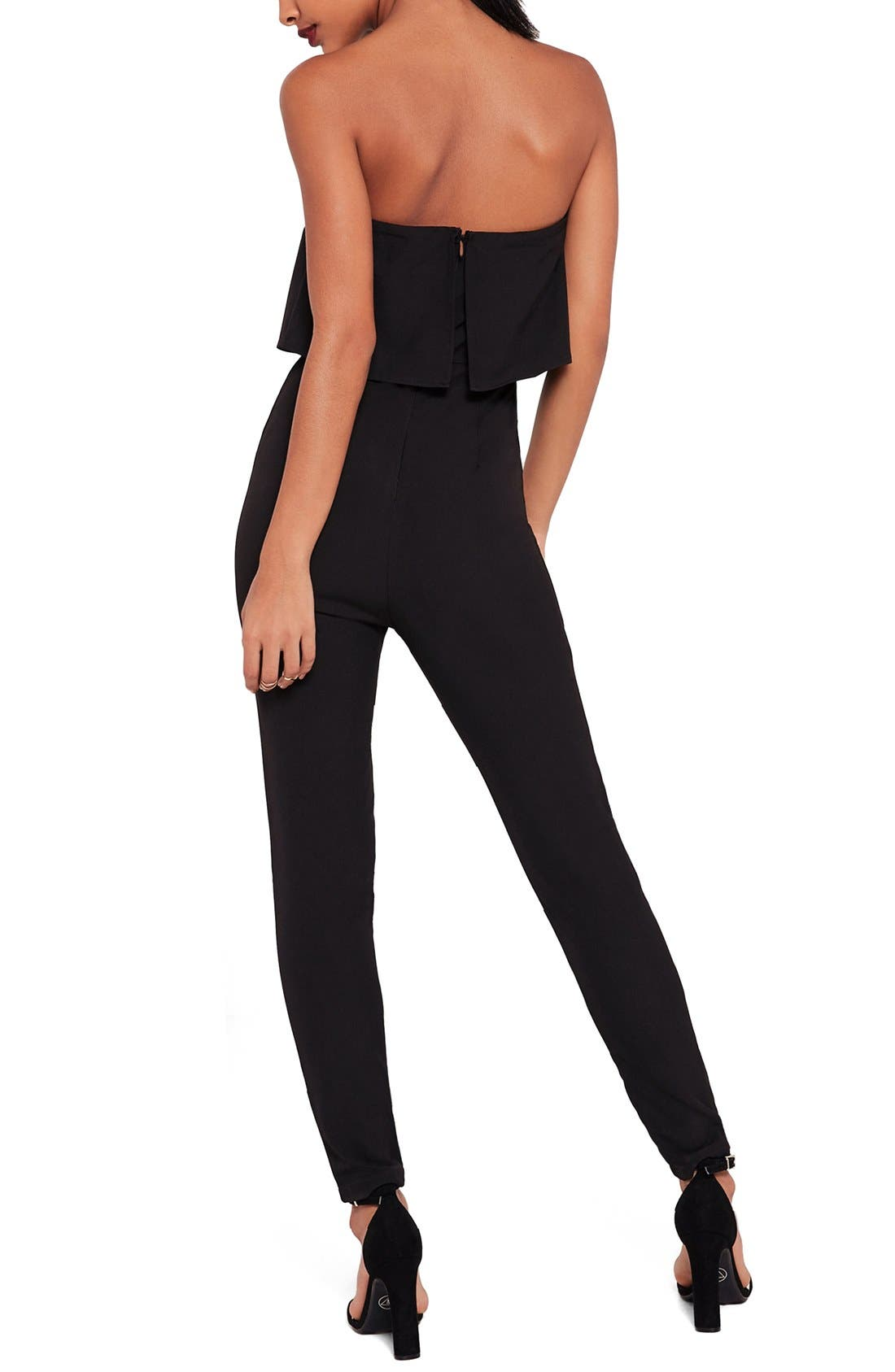 Alternate Image 3  - Missguided Strapless Jumpsuit