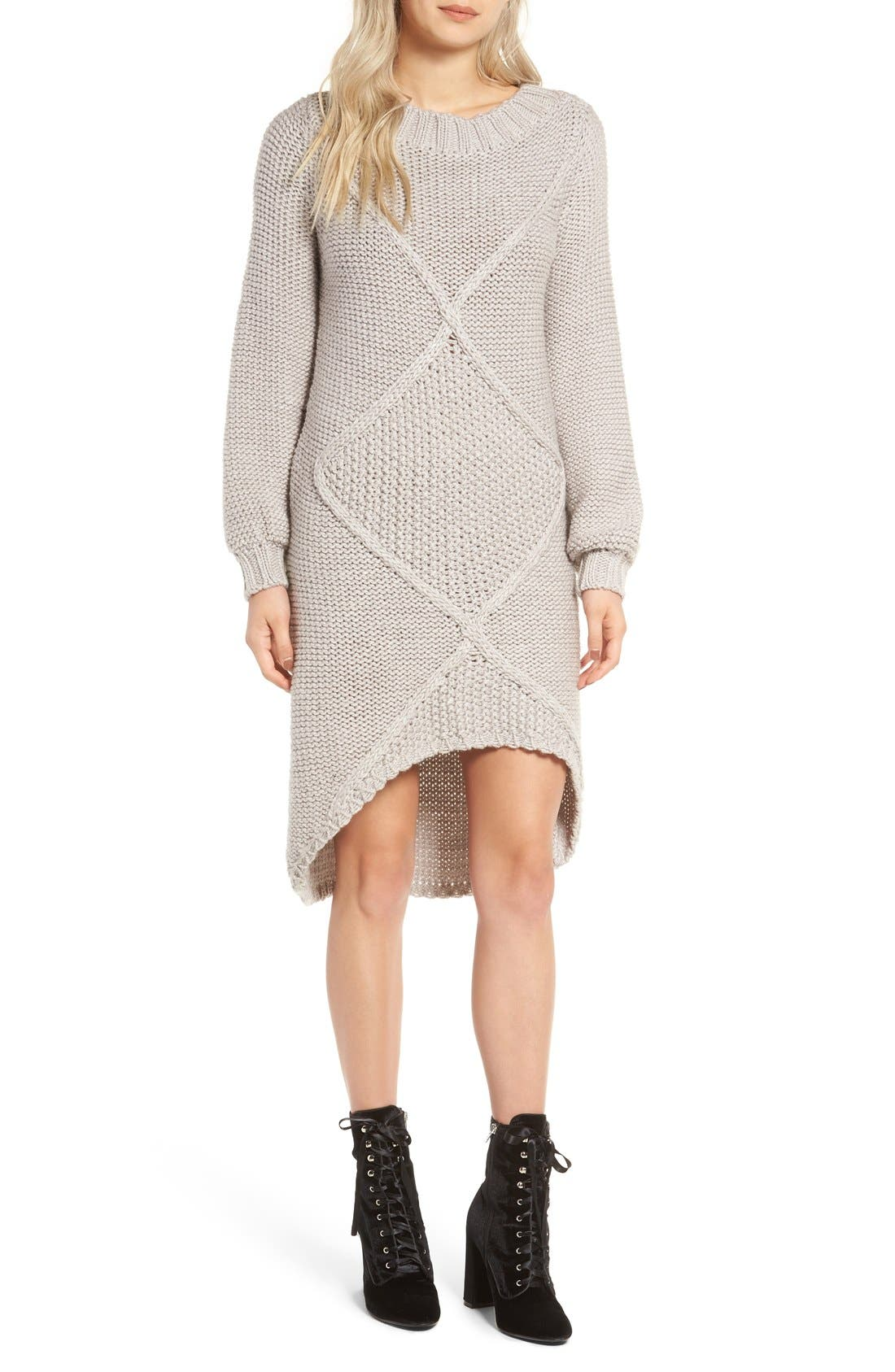 Alternate Image 1 Selected - Somedays Lovin Making Melody Knit Midi Dress