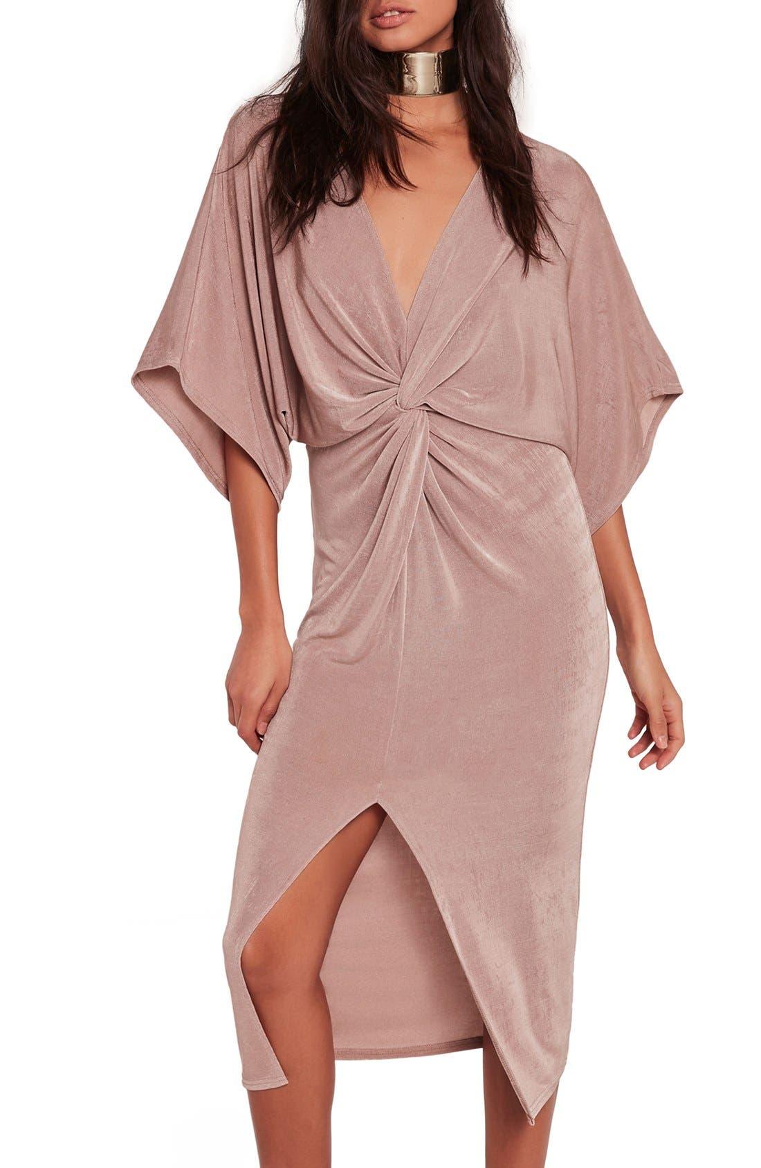 Kimono Midi Dress