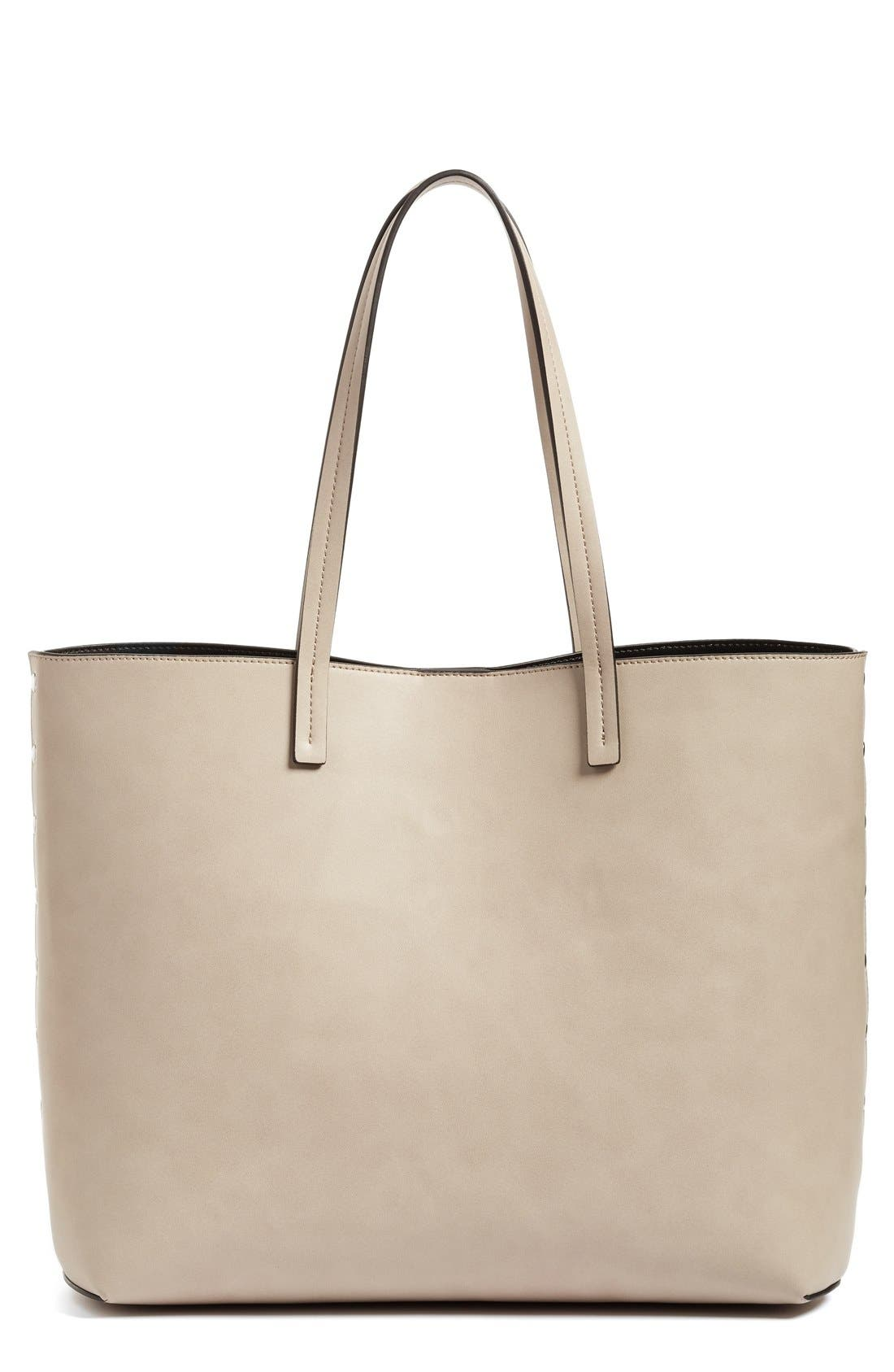 Alternate Image 1 Selected - Chelsea28 Olivia Faux Leather Tote