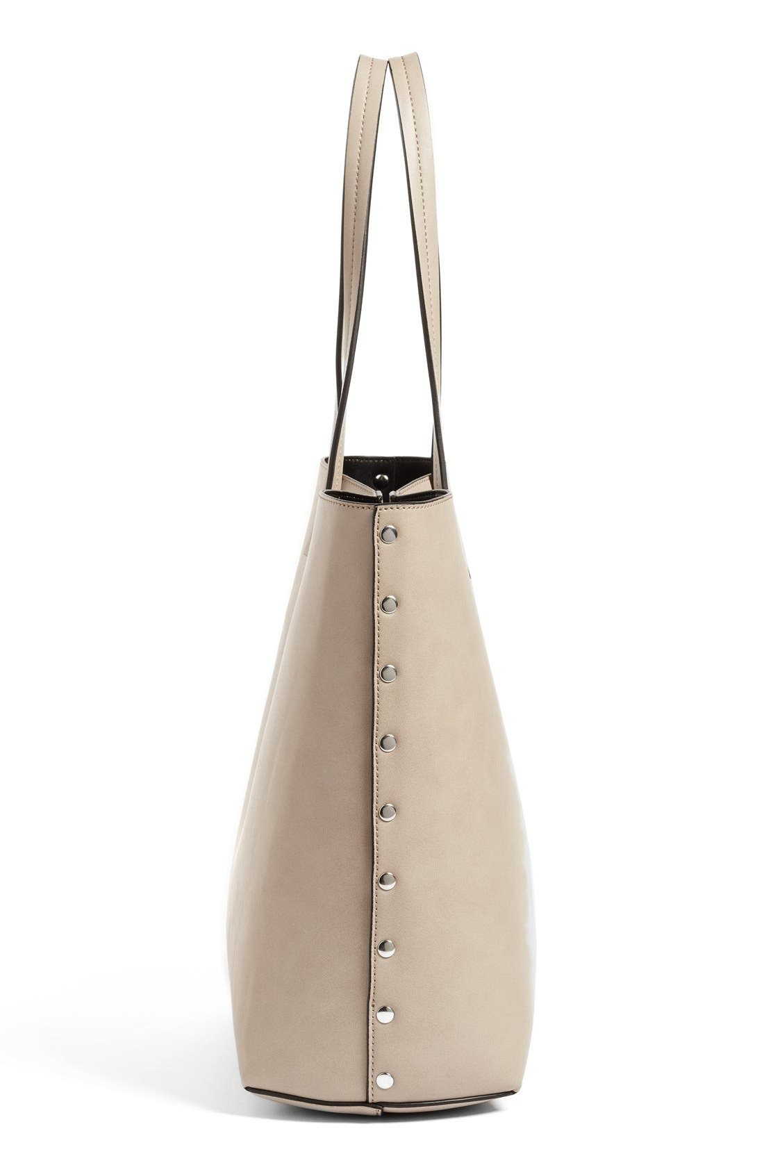 Alternate Image 5  - Chelsea28 Olivia Faux Leather Tote