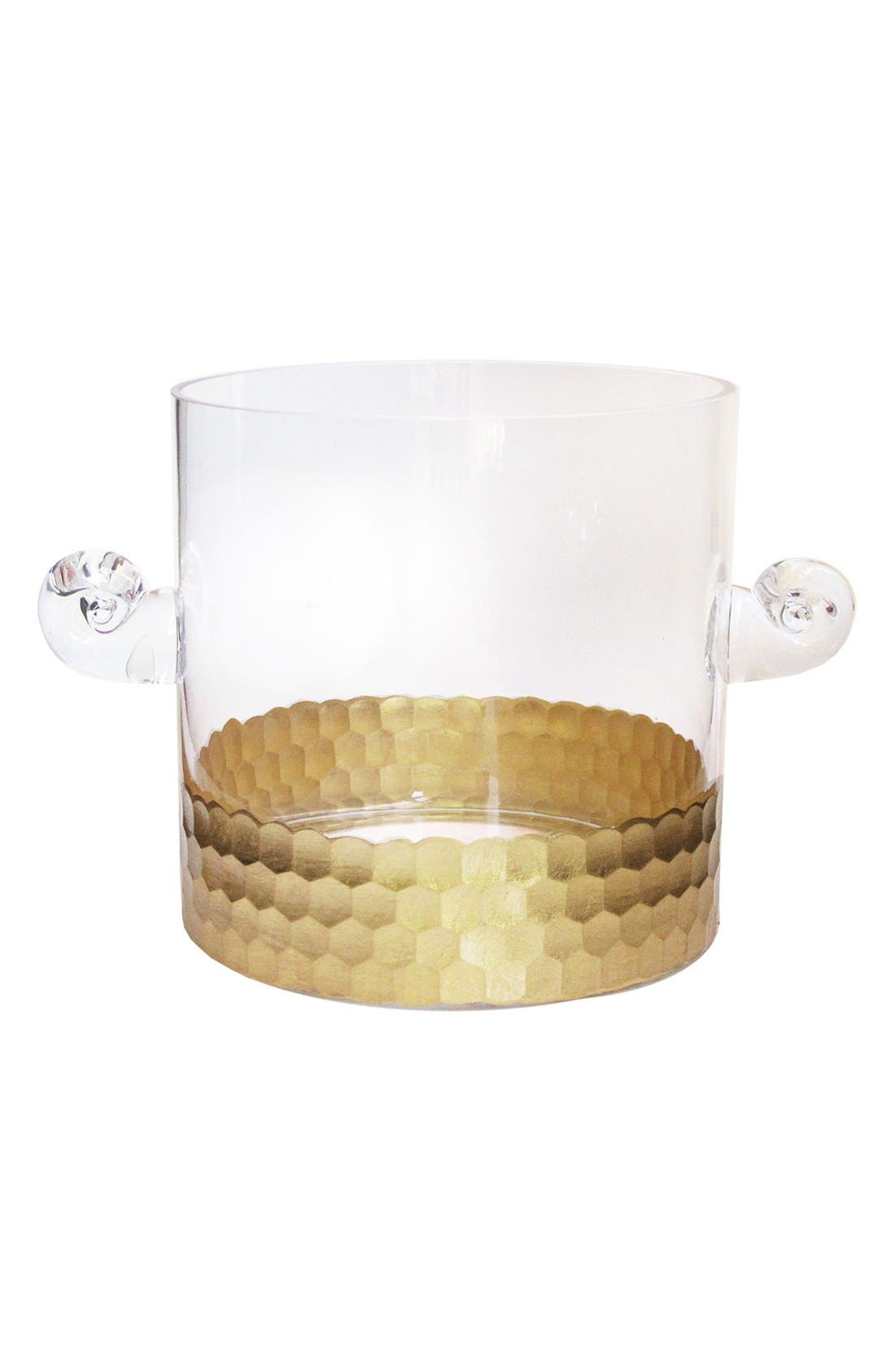 Daphne Ice Bucket,                             Main thumbnail 1, color,                             Gold