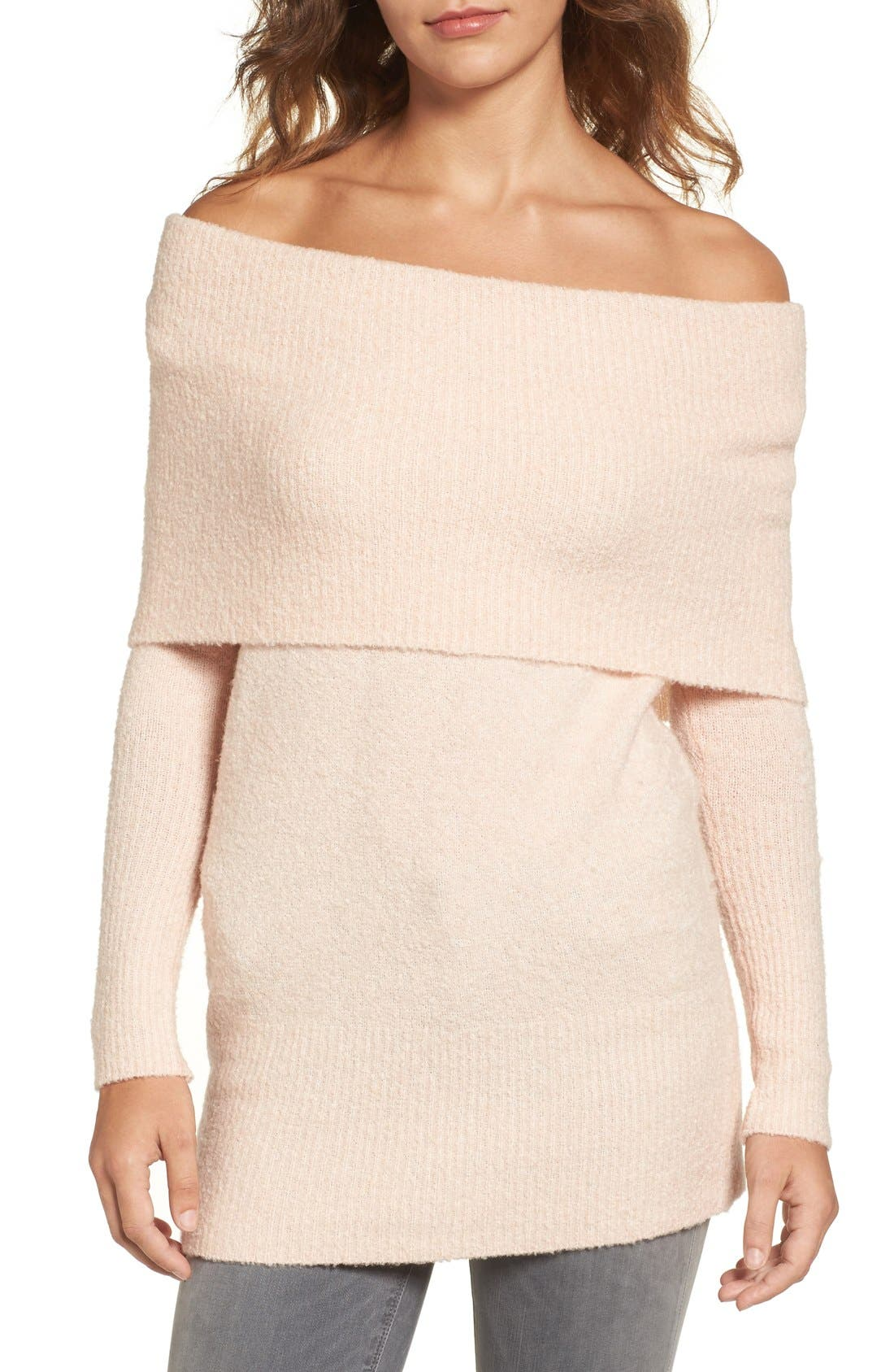 Trouvé Off the Shoulder Tunic