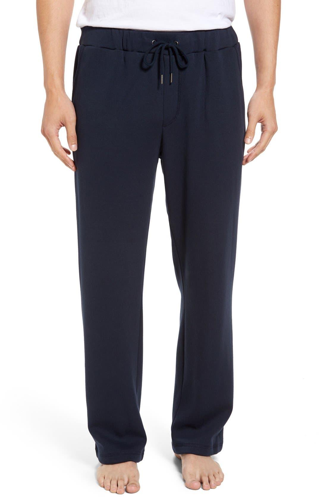 Alternate Image 1 Selected - Nordstrom Men's Shop Fleece Lounge Pants
