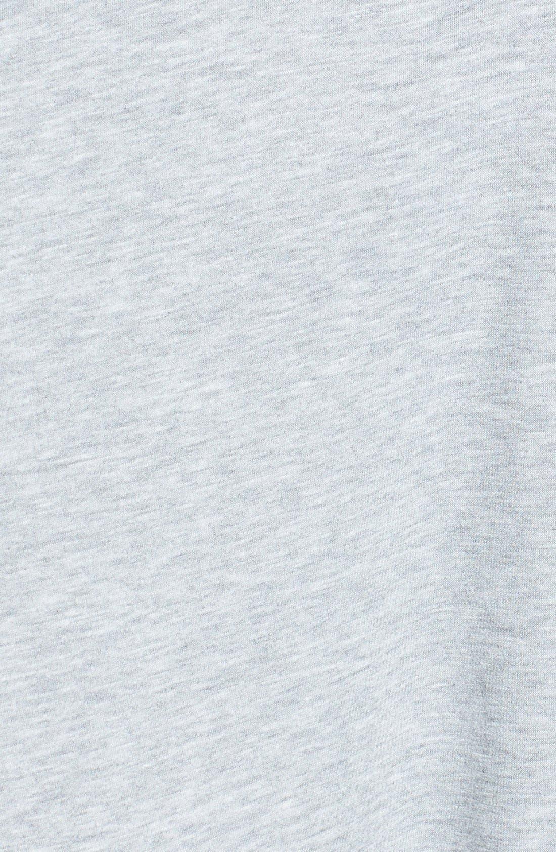 Alternate Image 5  - Bobeau Peplum Back Open Front Cardigan (Regular & Petite)