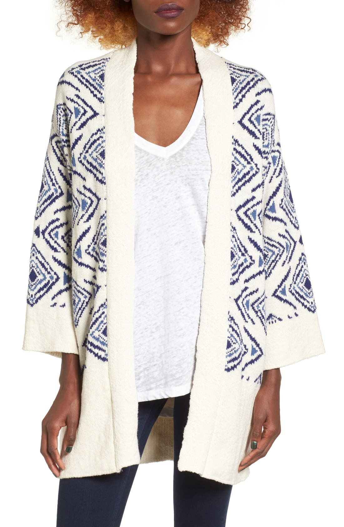 Alternate Image 1 Selected - Roxy Always Forever Kimono Cardigan