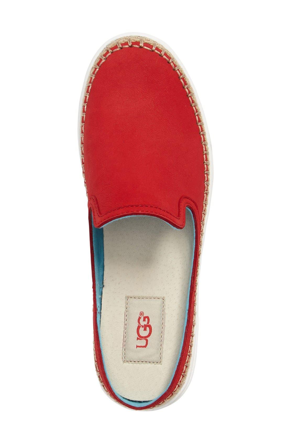 Alternate Image 3  - UGG® 'Caleel' Slip-On Sneaker (Women)