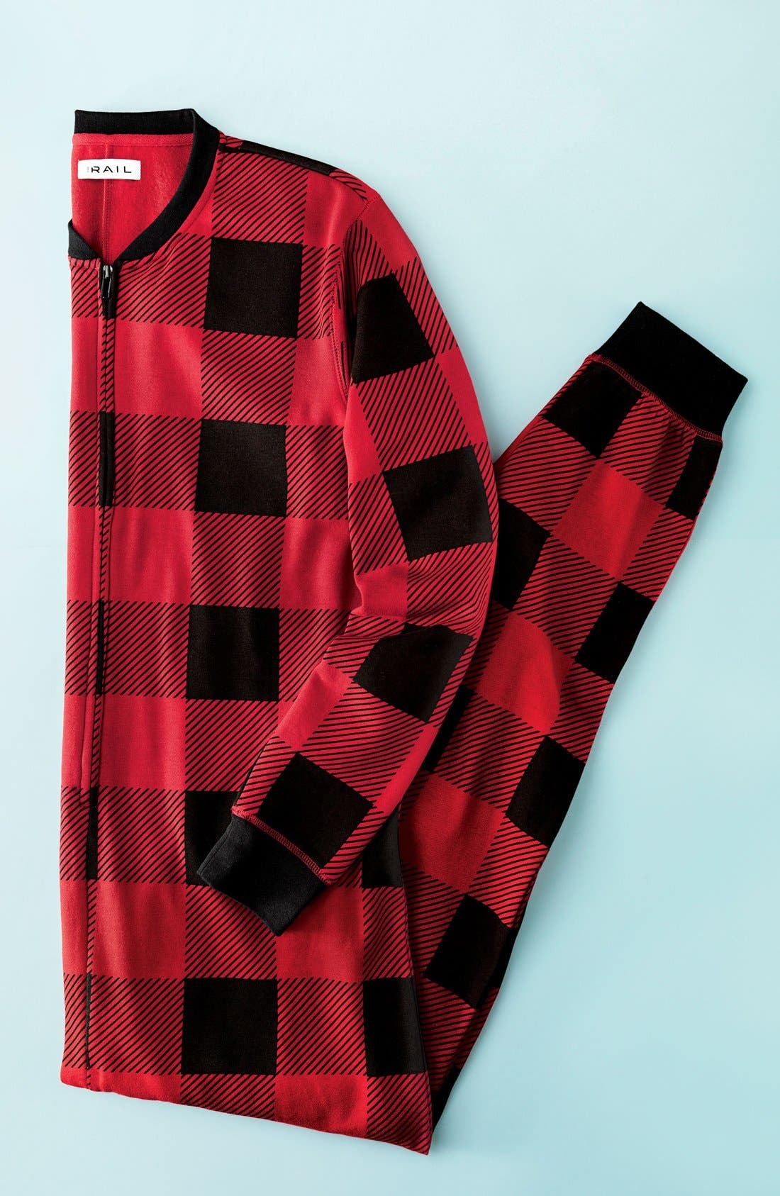 Alternate Image 7  - The Rail Fleece One-Piece Pajamas