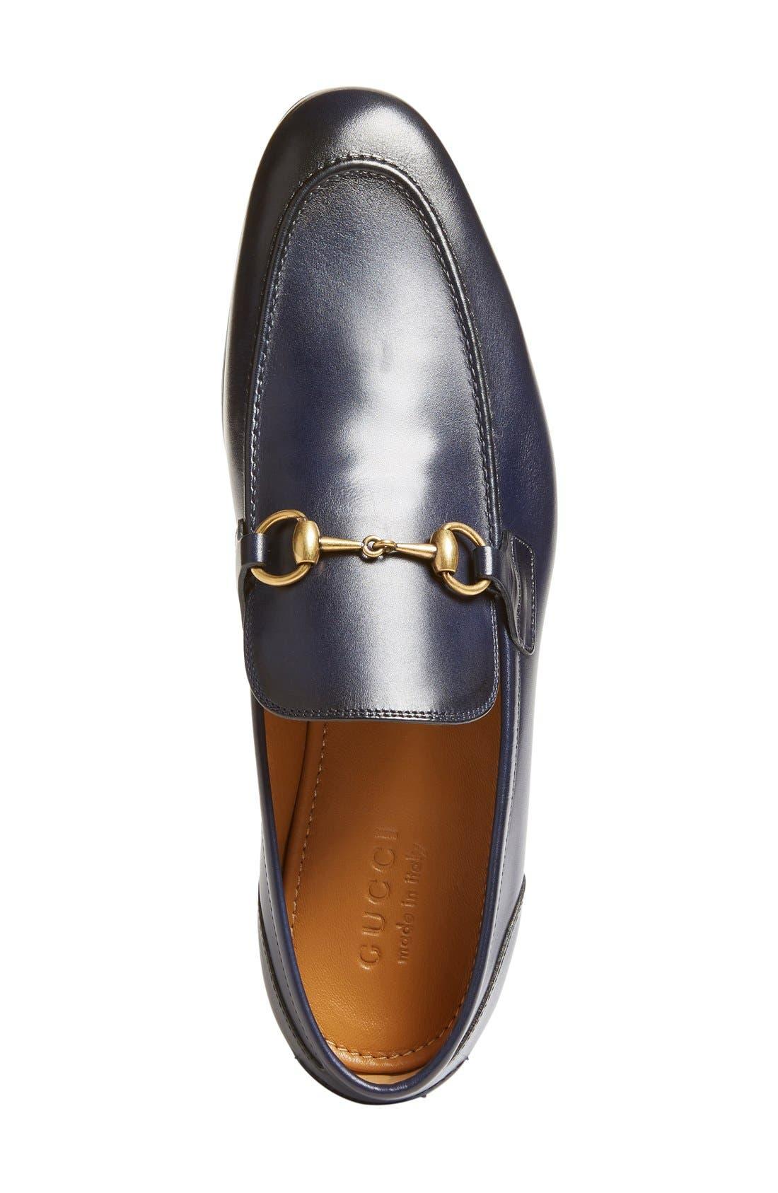 Alternate Image 3  - Gucci Jordaan Bit Loafer (Men)