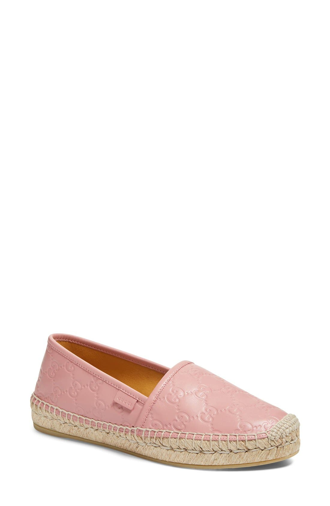 Alternate Image 1 Selected - Gucci Pilar Espadrille Flat (Women)