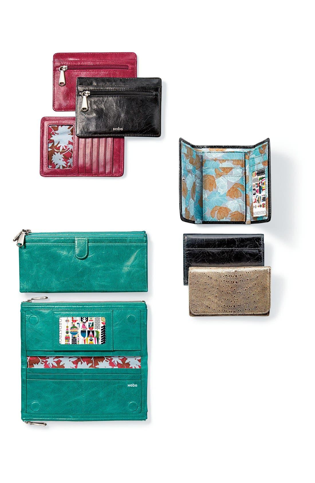 Alternate Image 7  - Hobo 'Taylor' Glazed Leather Wallet