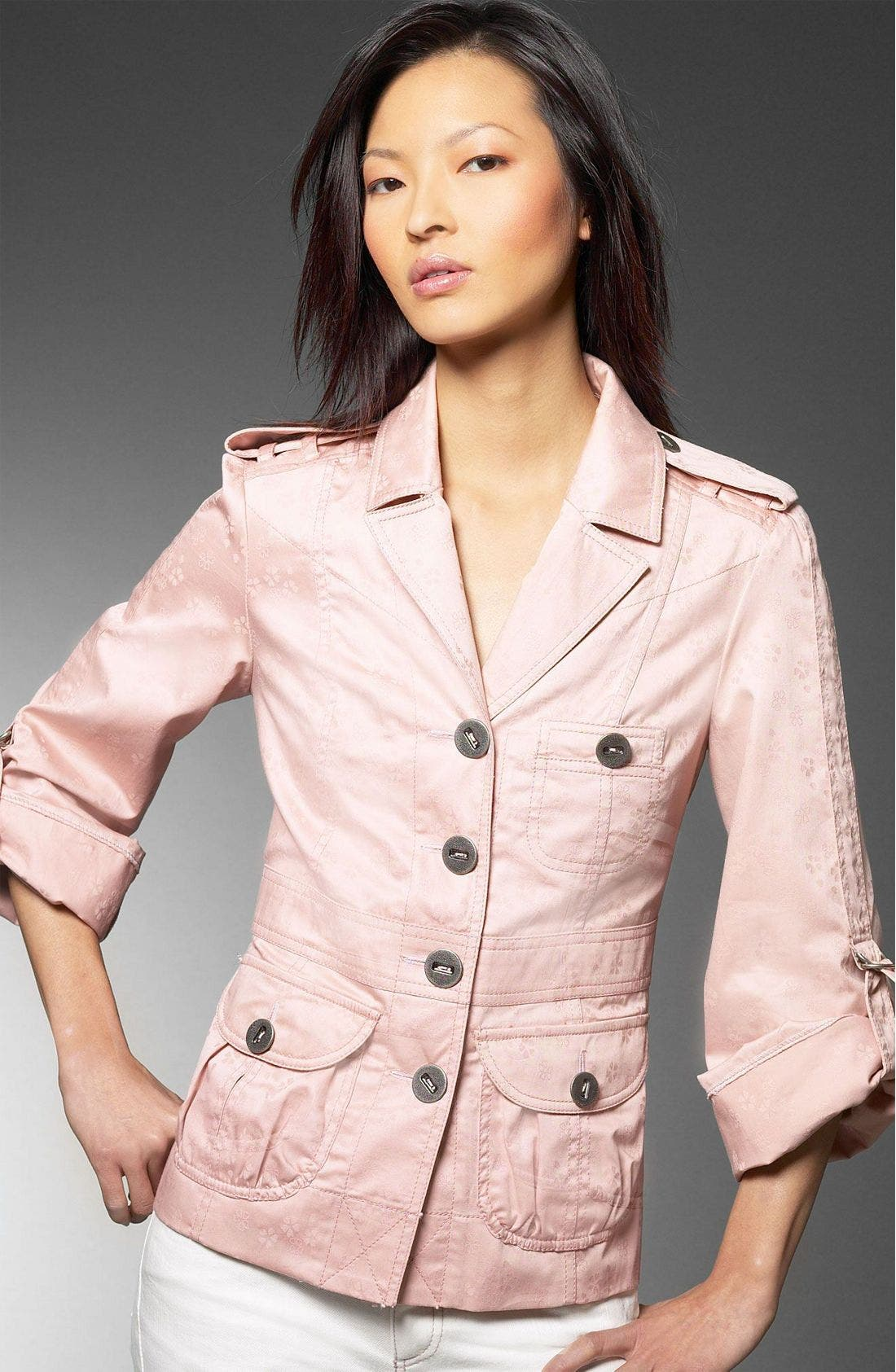 Alternate Image 1 Selected - MARC BY MARC JACOBS Sateen Jacquard Jacket