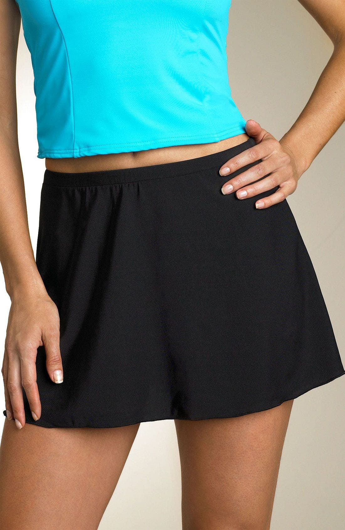 Alternate Image 1 Selected - Miraclesuit® Skirted Swim Bottoms