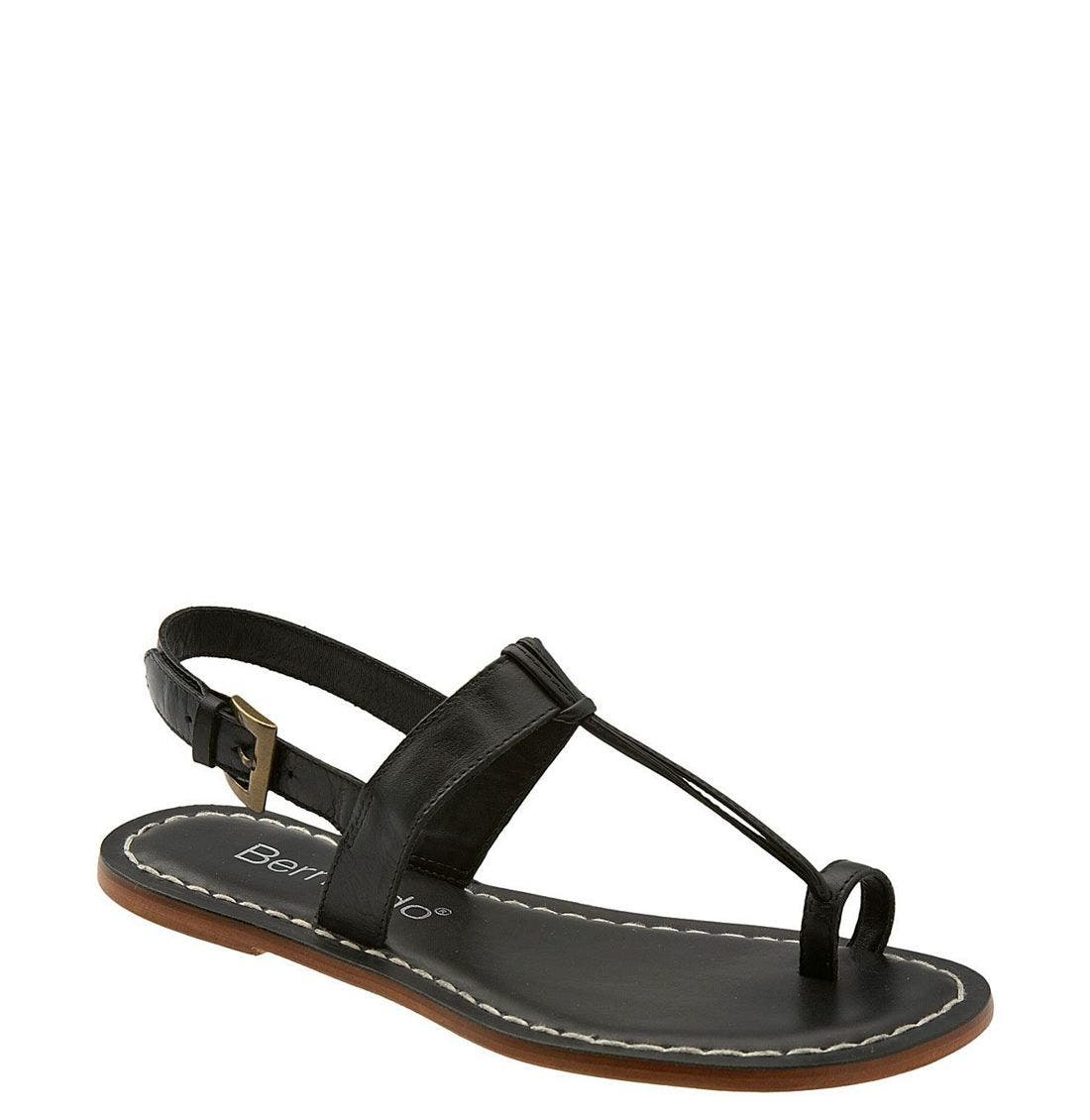 Main Image - Bernardo Maverick Leather Sandal (Women)
