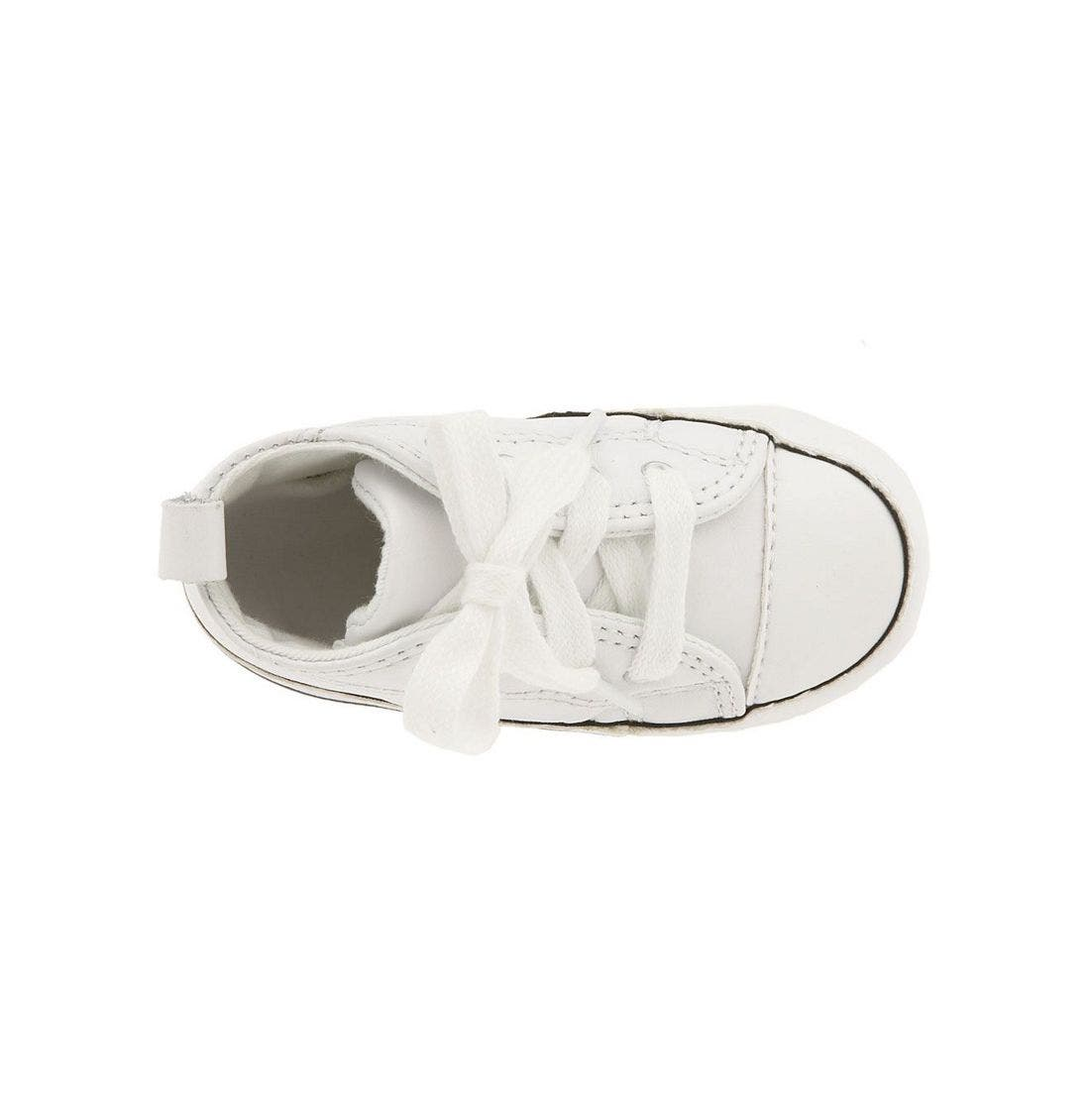Chuck Taylor<sup>®</sup> Crib Sneaker,                             Alternate thumbnail 3, color,                             White