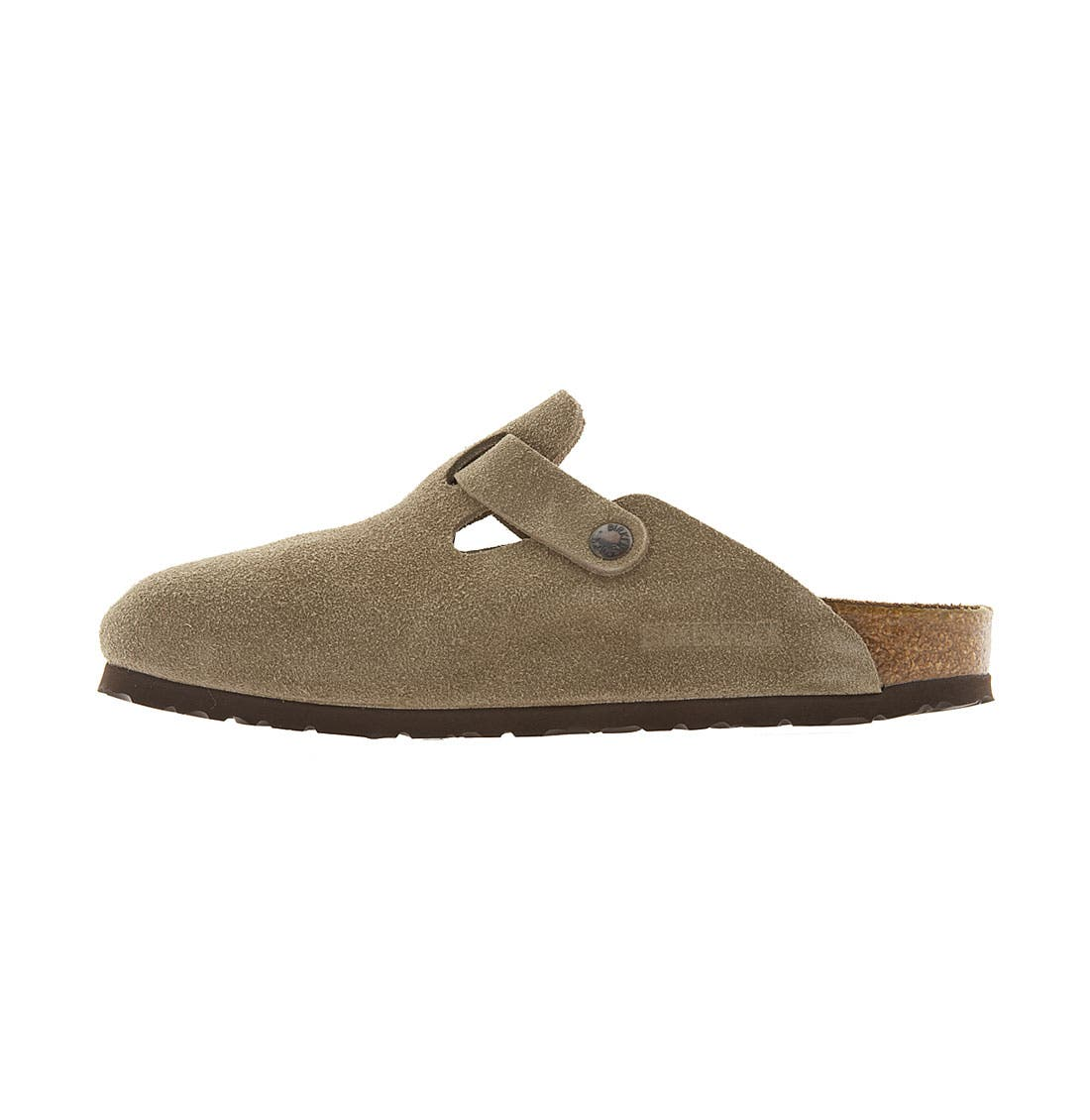 Alternate Image 2  - Birkenstock 'Boston' Classic Suede Clog (Women)