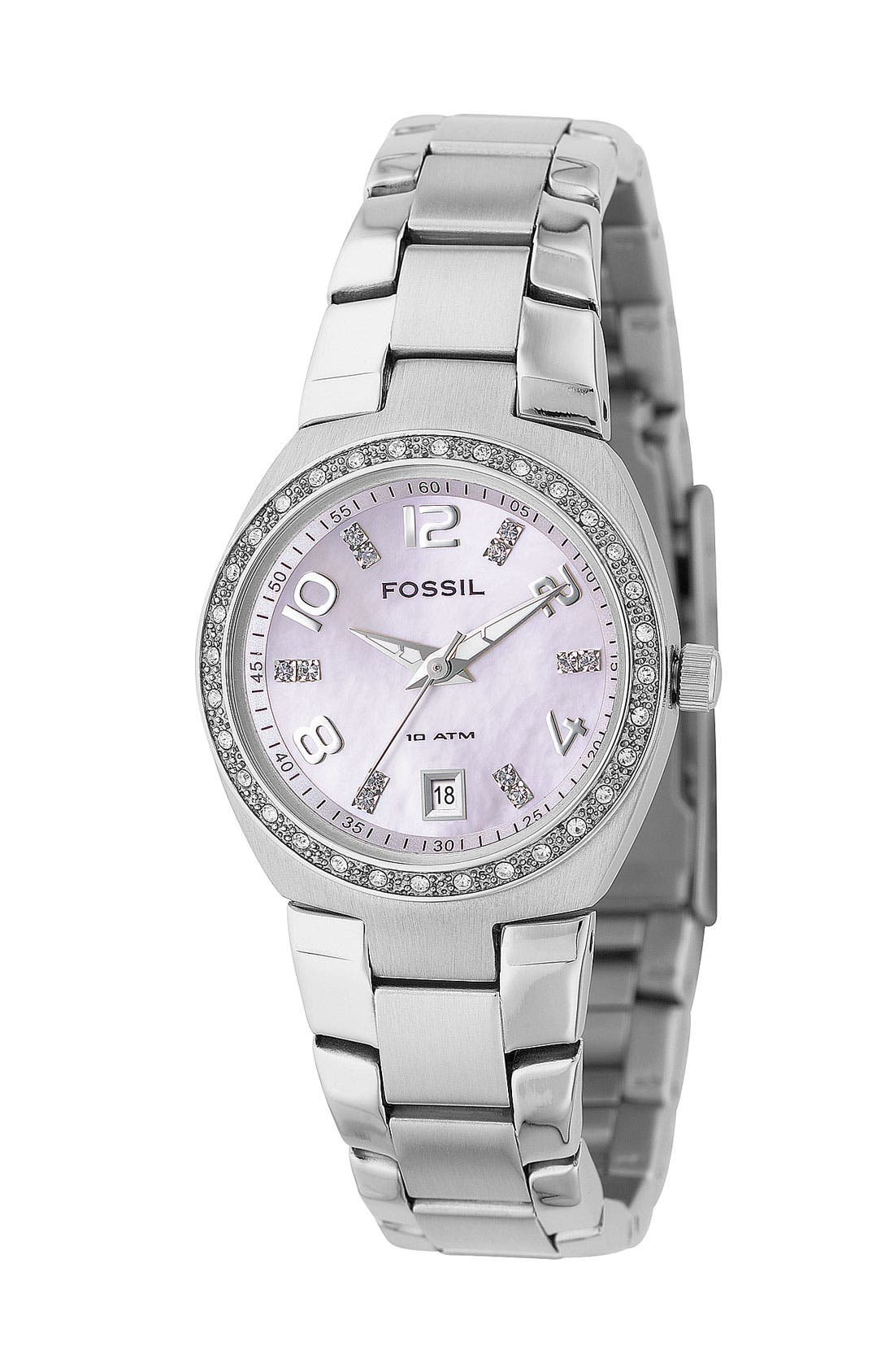 Alternate Image 1 Selected - Fossil Crystal Dial Watch, 28mm