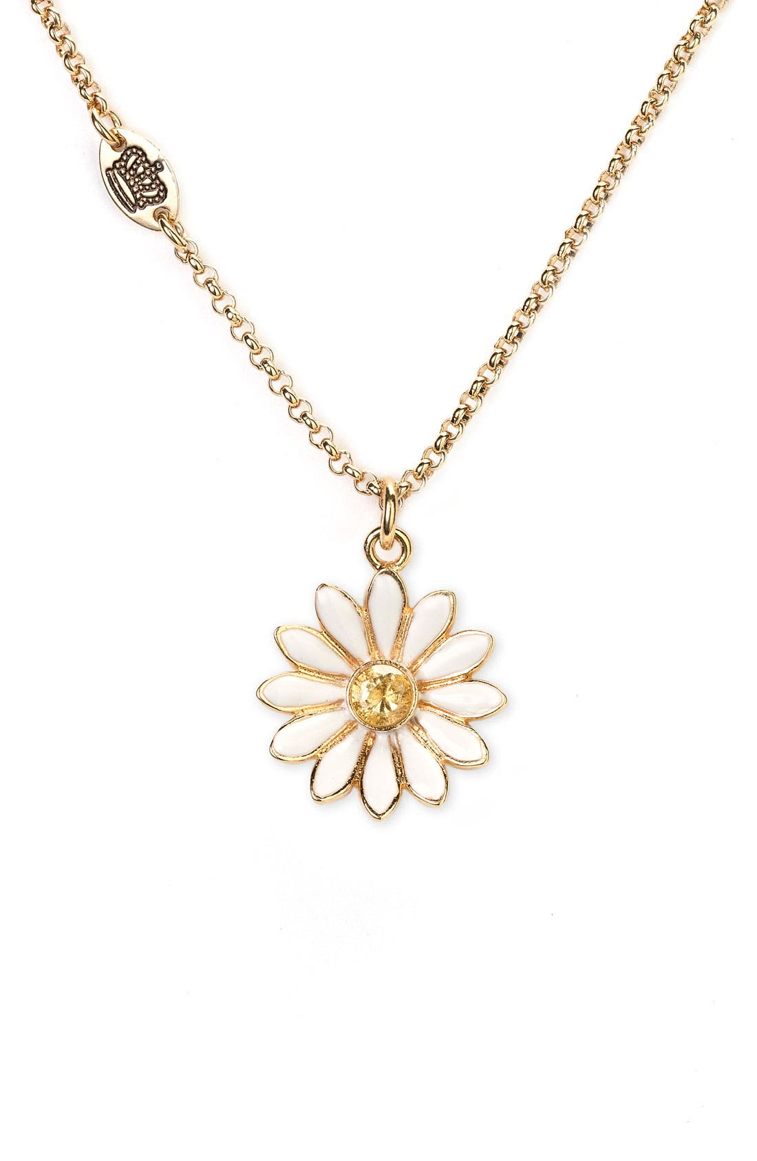 Main Image - Juicy Couture 'Wish - Daisy' Necklace