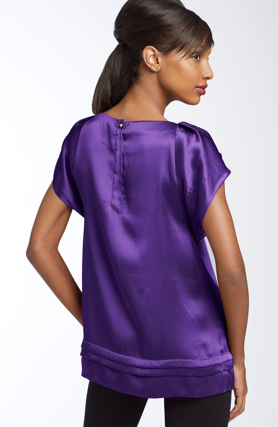 Alternate Image 2  - Diane von Furstenberg 'Lindella' Ruffled Silk Top