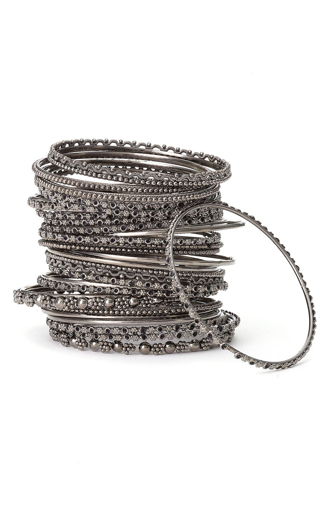 Alternate Image 1 Selected - Cara Accessories Bangle Set