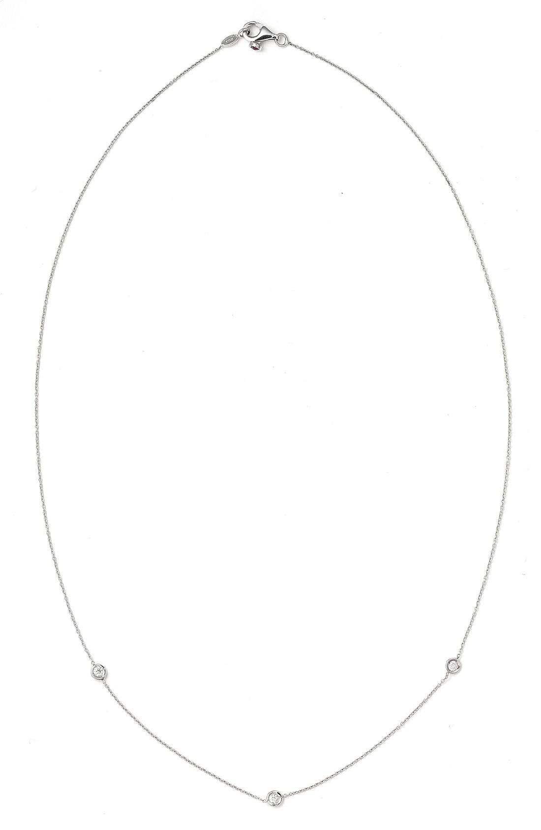 Alternate Image 2  - Roberto Coin Diamond Station Necklace