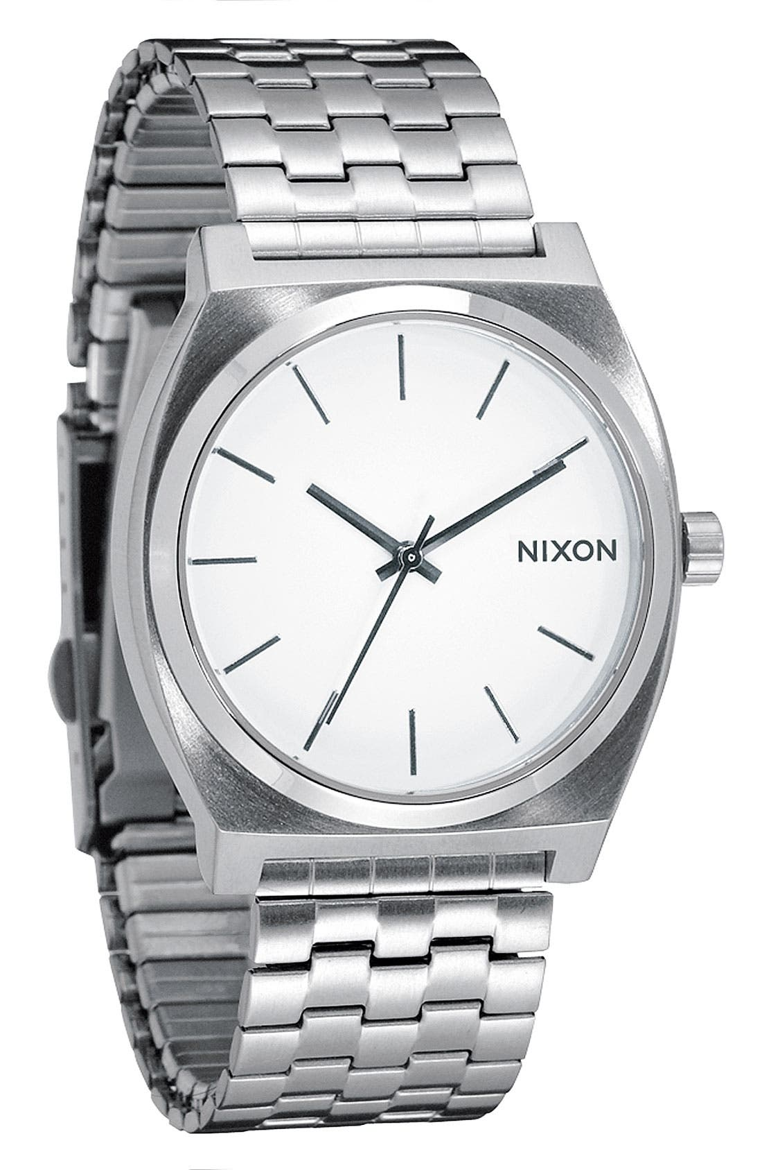 Alternate Image 1 Selected - Nixon 'The Time Teller' Watch