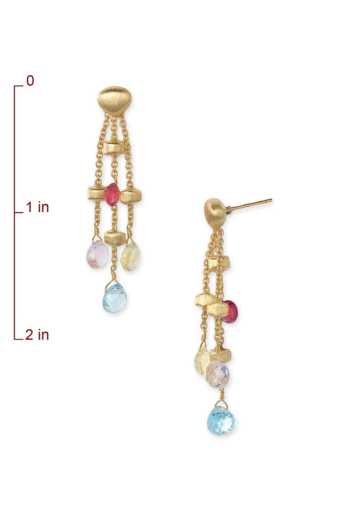 Alternate Image 2  - Marco Bicego 'Paradise' Triple Strand Earrings