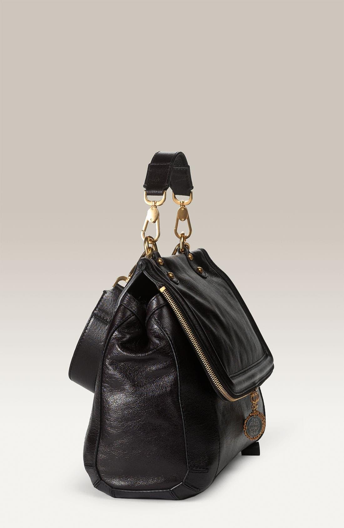 Alternate Image 2  - Dolce&Gabbana 'Miss Rose' Buffalo Leather Satchel