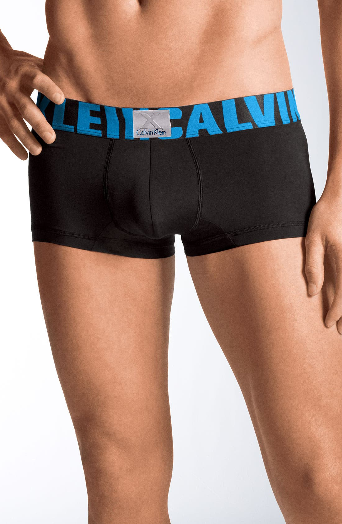 Alternate Image 1 Selected - Calvin Klein 'X' Stretch Cotton Boxer Briefs