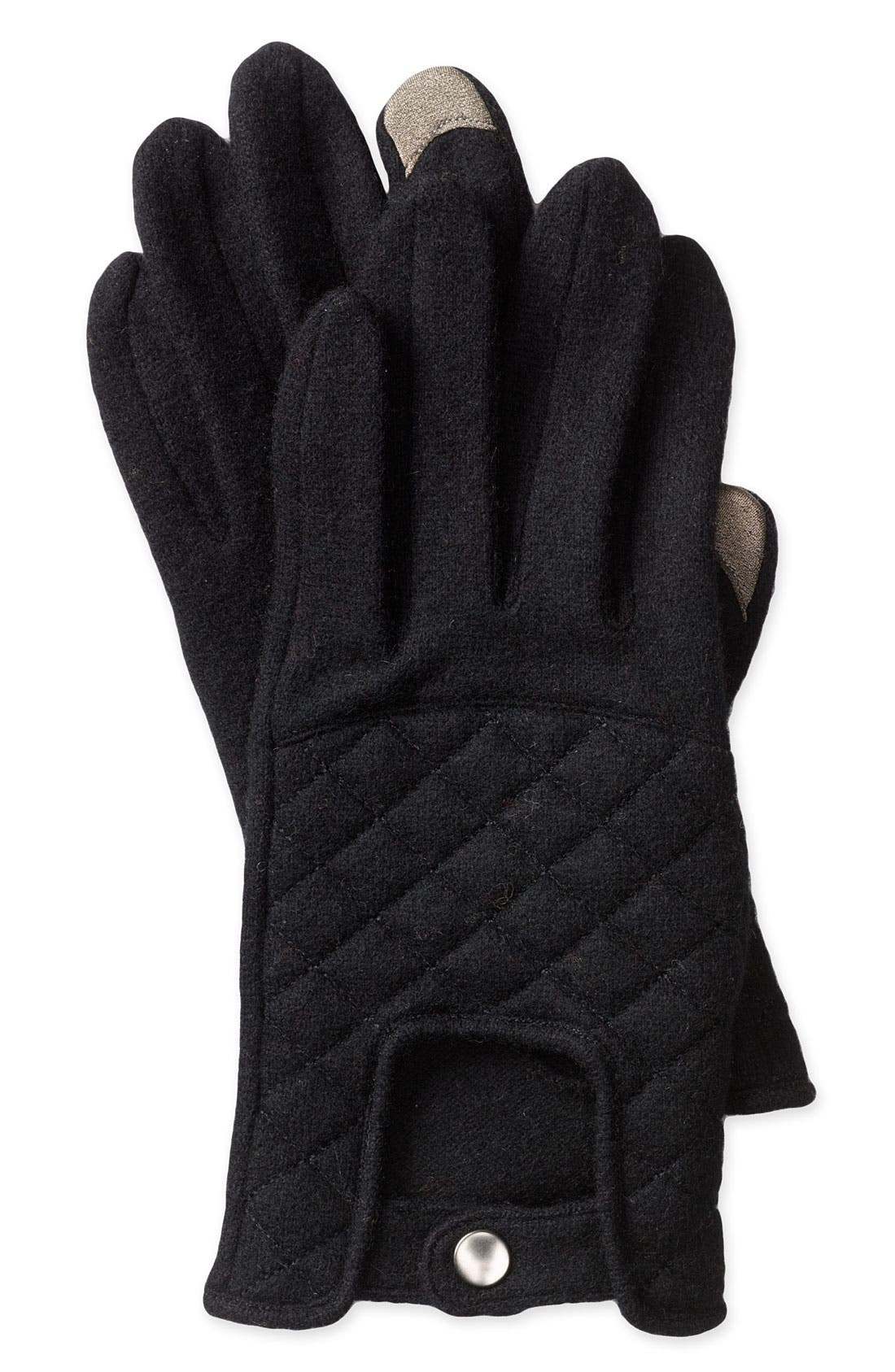 Alternate Image 1 Selected - Echo 'Driver Touch' Wool Blend Gloves