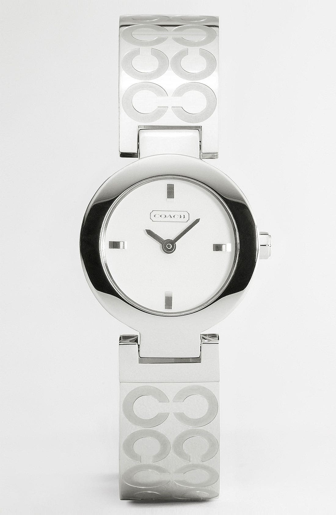 Alternate Image 1 Selected - COACH 'Mercer - Optic C' Bangle Watch