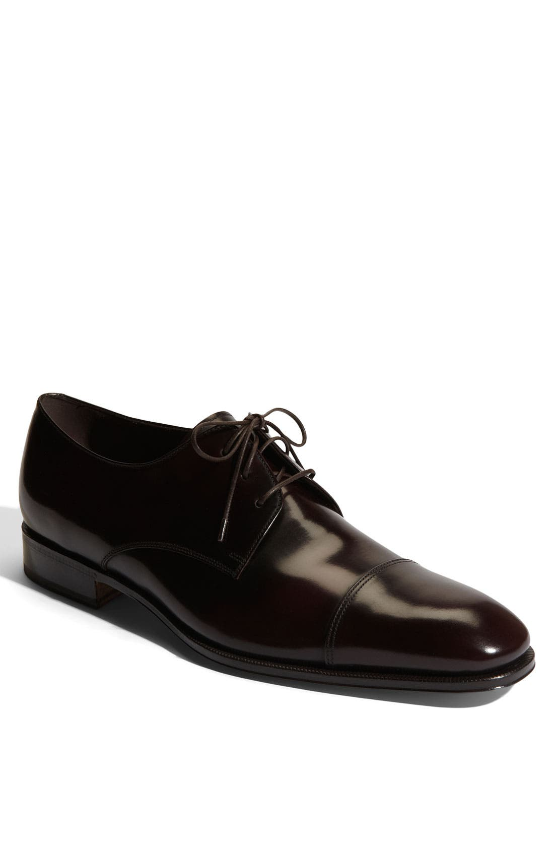 Alternate Image 1 Selected - Salvatore Ferragamo 'Faraone' Cap Toe Oxford (Men)