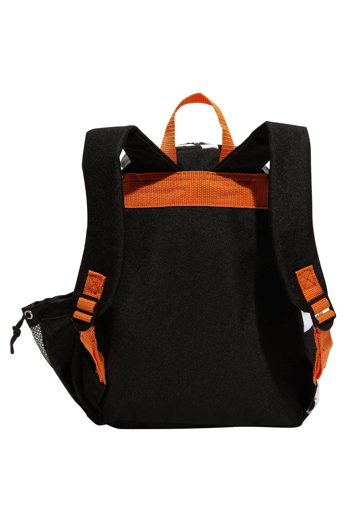 Zoo Pack Backpack,                             Alternate thumbnail 4, color,                             White/ Black