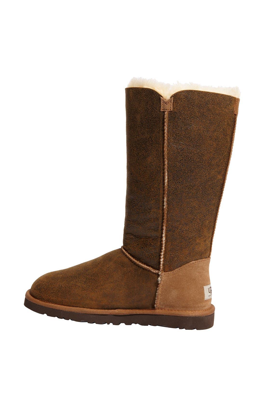 Alternate Image 2  - UGG® Australia 'Bailey Button Triplet' Boot (Bomber) (Women)