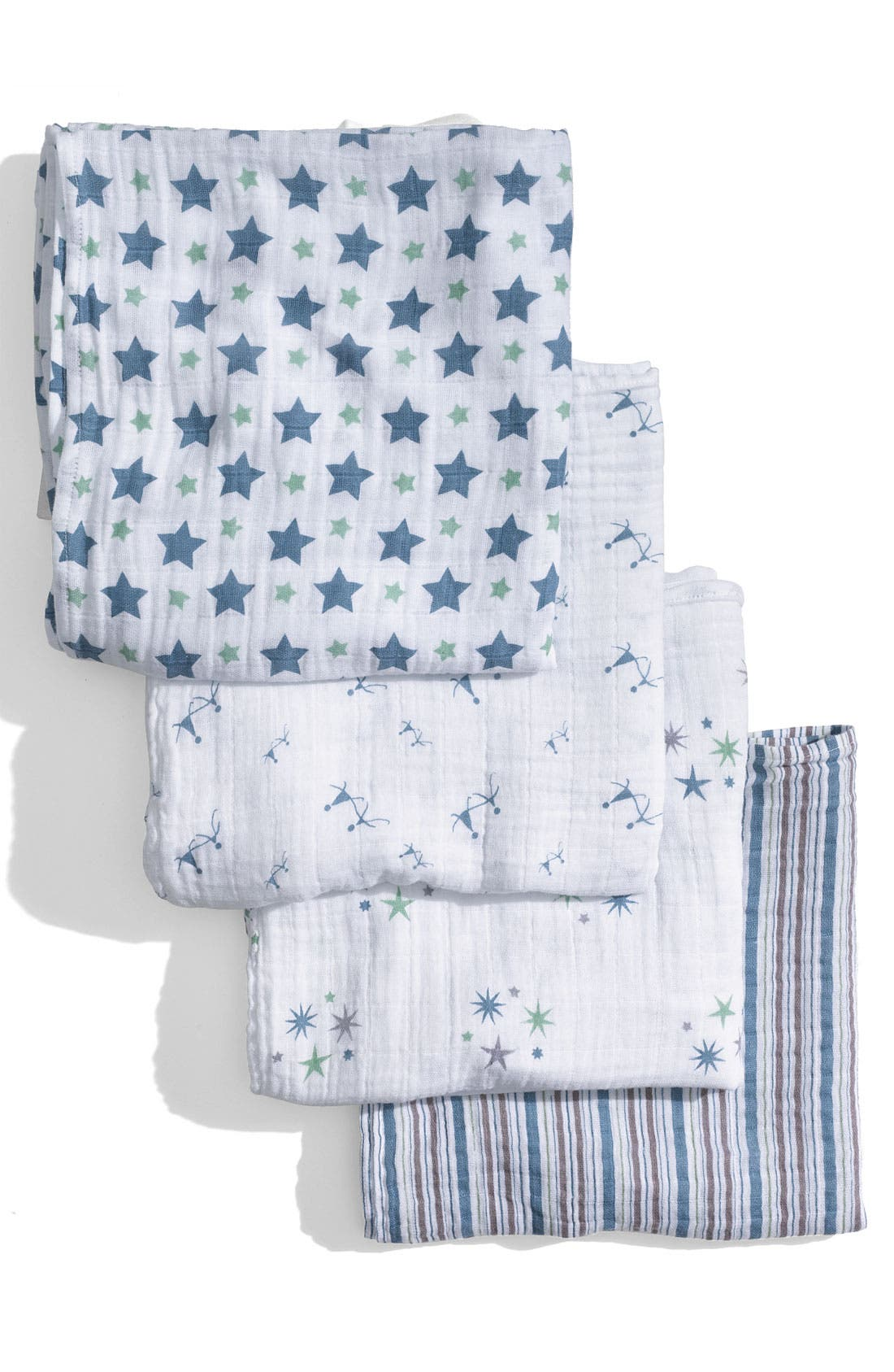 Alternate Image 2  - aden + anais Set of 4 Classic Swaddling Cloths