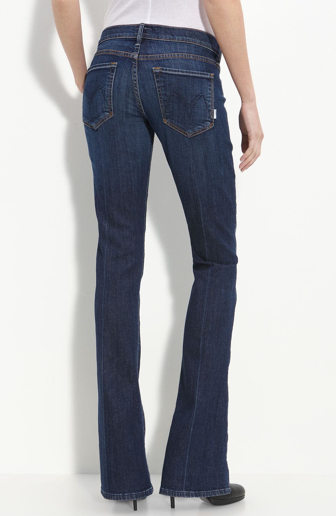 Main Image - MOTHER 'The Runaway' Bootcut Stretch Jeans (Flowers from the Storm)