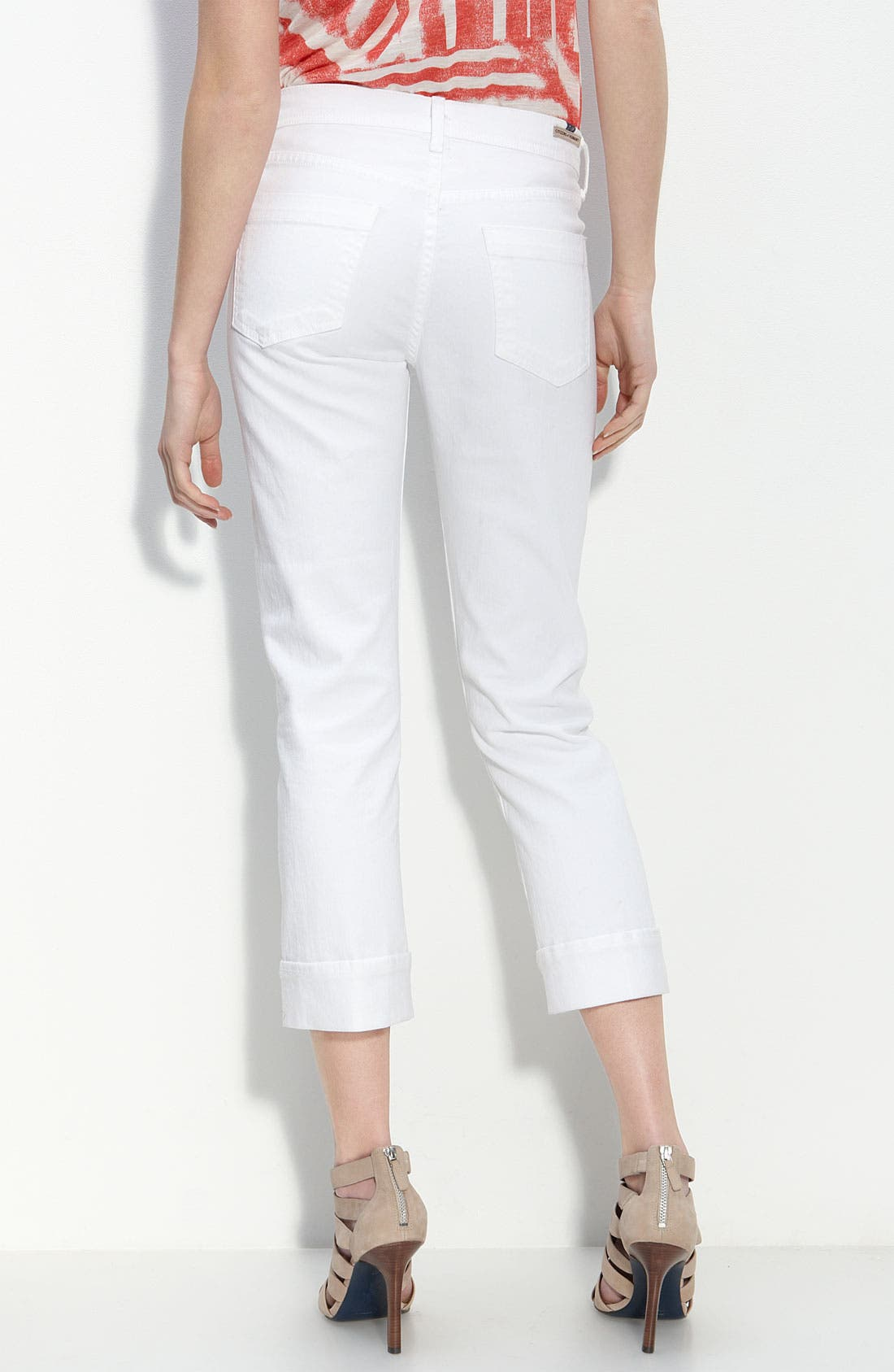 Alternate Image 2  - Citizens of Humanity 'Dani' Stretch Denim Capri Pants (Santorini Wash)