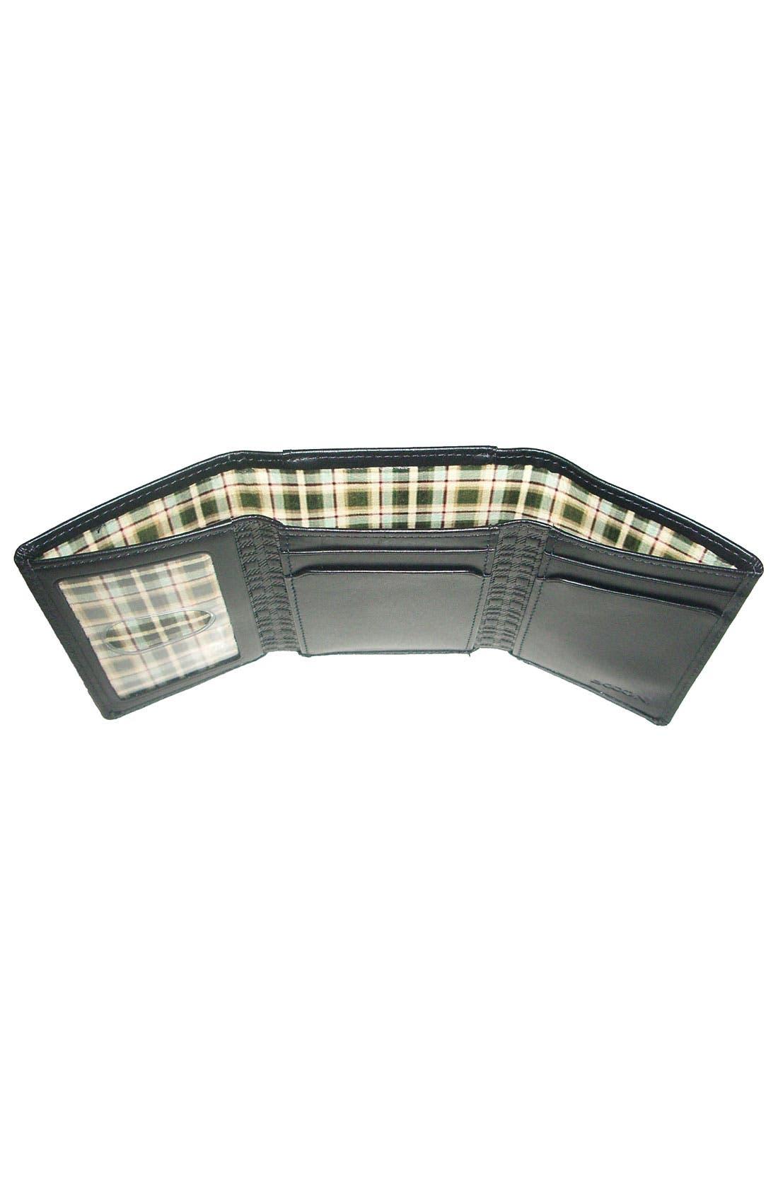 Alternate Image 2  - Boconi Trifold Wallet