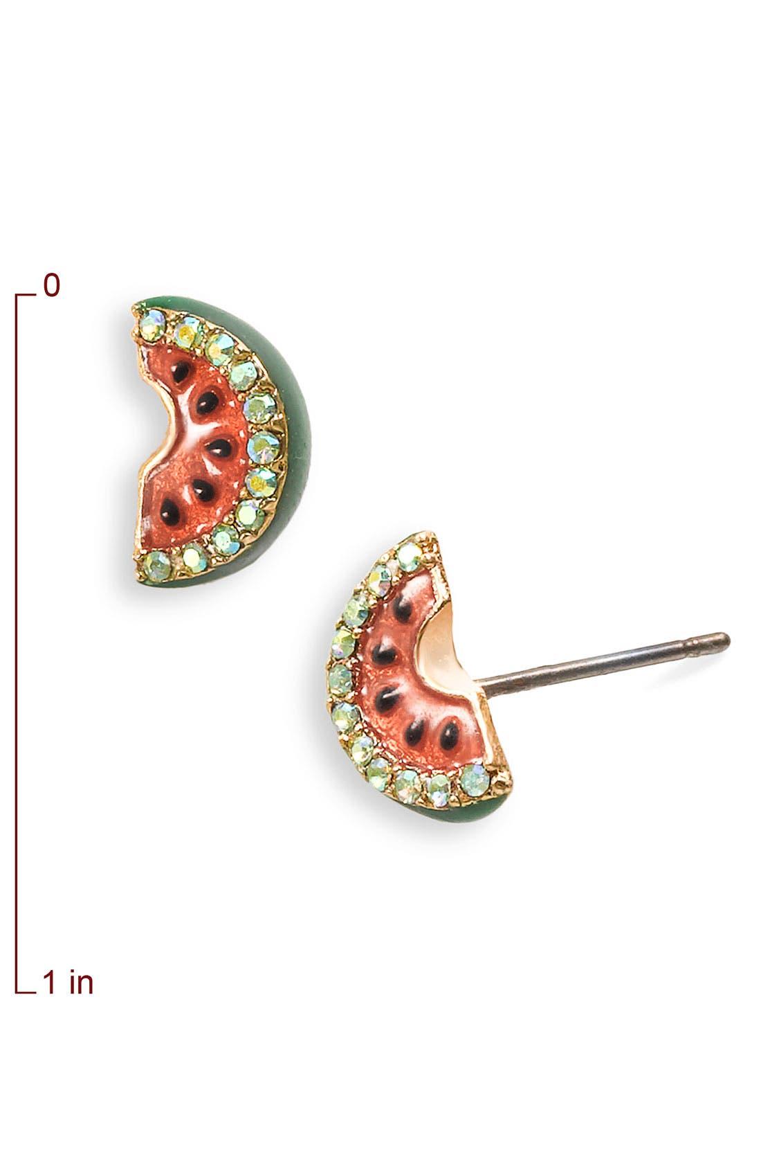 Alternate Image 2  - Juicy Couture 'Juicy Fruits' Stud Earrings