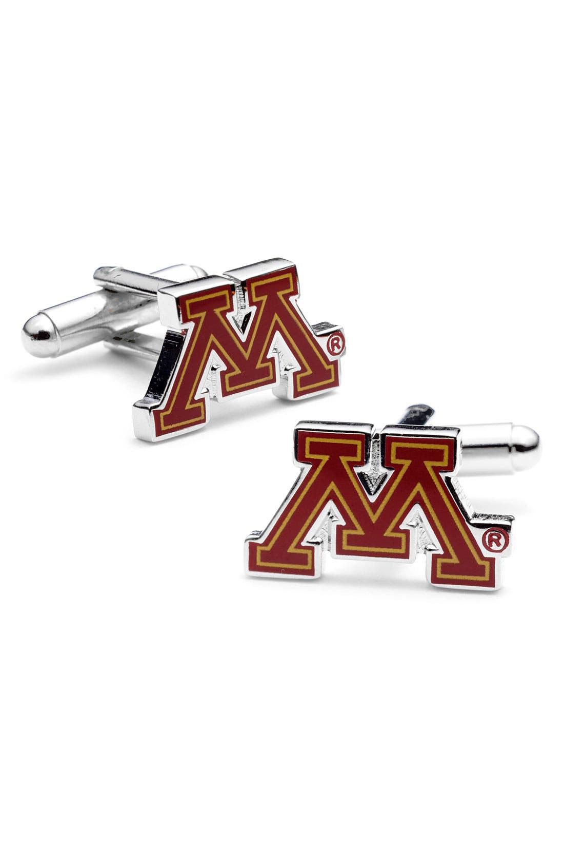 Main Image - Cufflinks, Inc. 'University of Minnesota Golden Gophers' Cuff Links