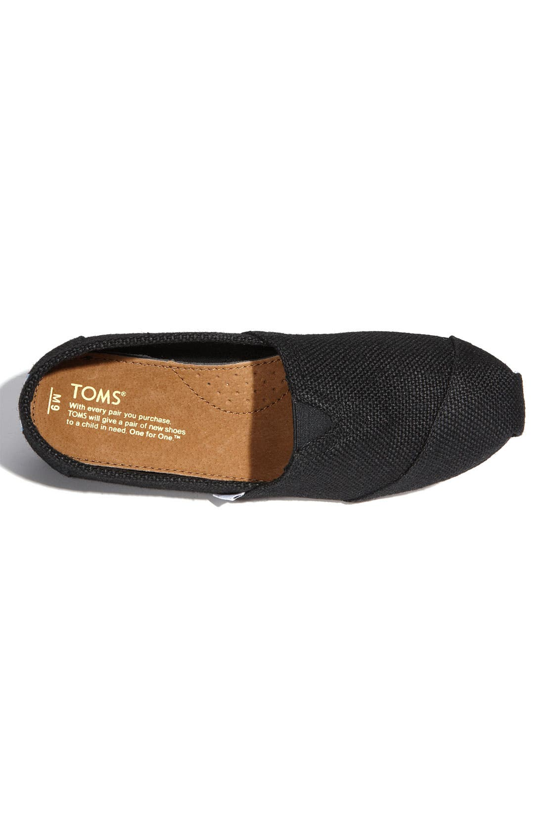 Alternate Image 3  - TOMS 'Classic' Burlap Slip-On   (Men)