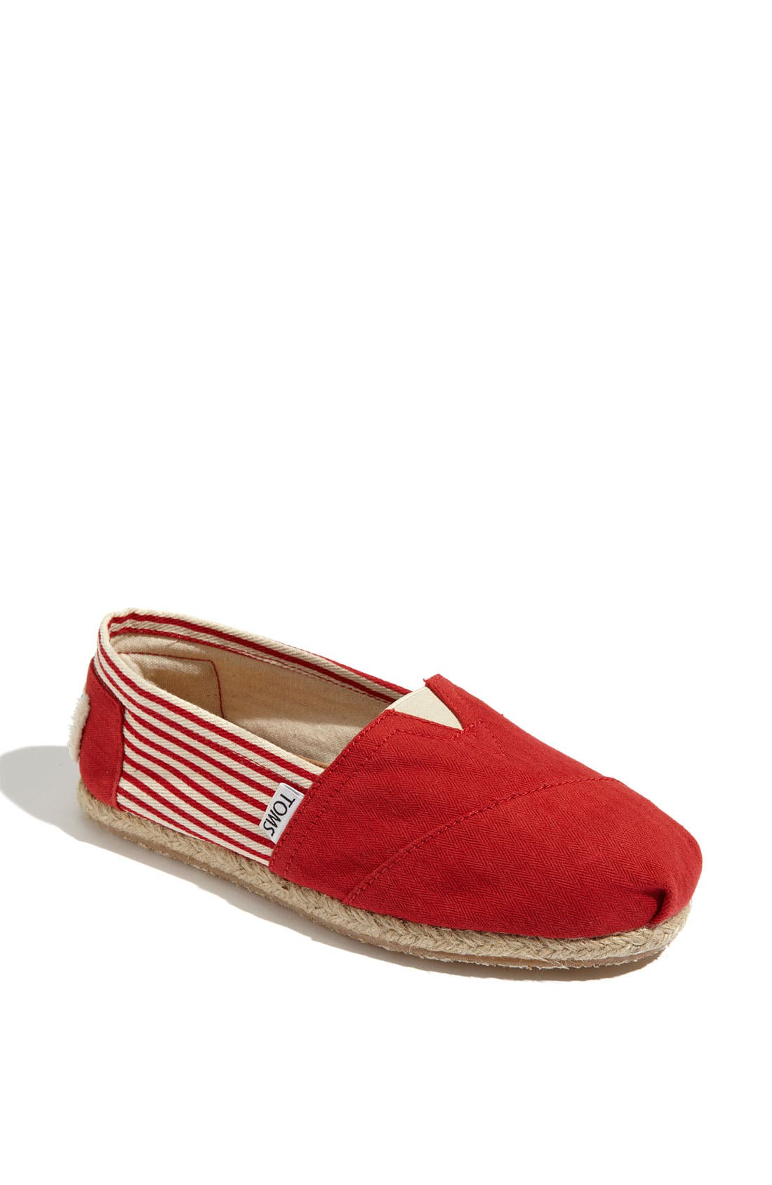Alternate Image 1 Selected - TOMS 'Classic - University' Slip-On (Women)