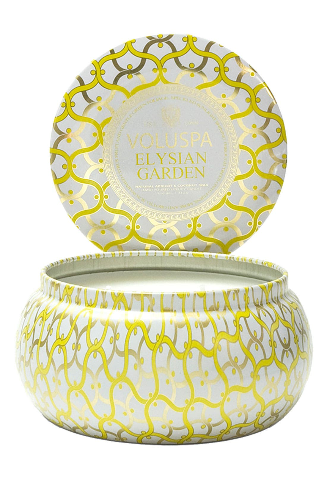 Alternate Image 1 Selected - Voluspa 'Maison Blanc - Elysian Garden' 2-Wick Candle