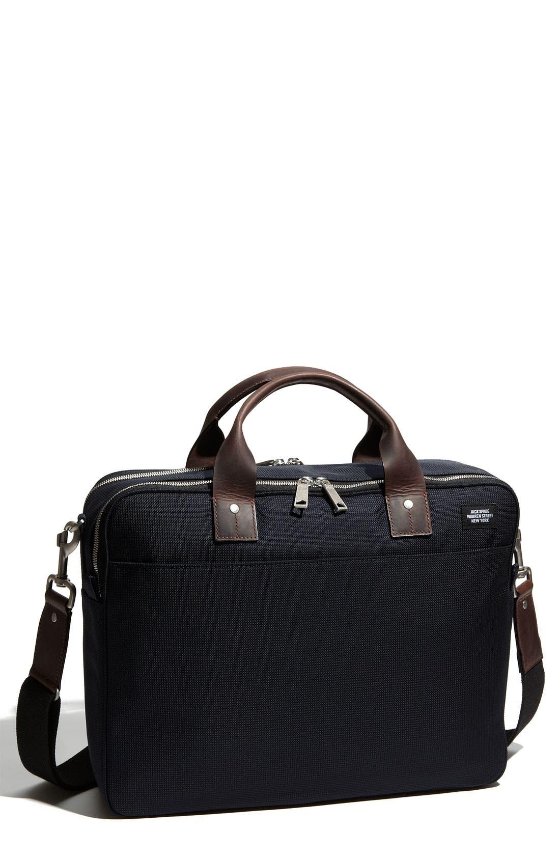 Main Image - Jack Spade Nylon Canvas Laptop Briefcase